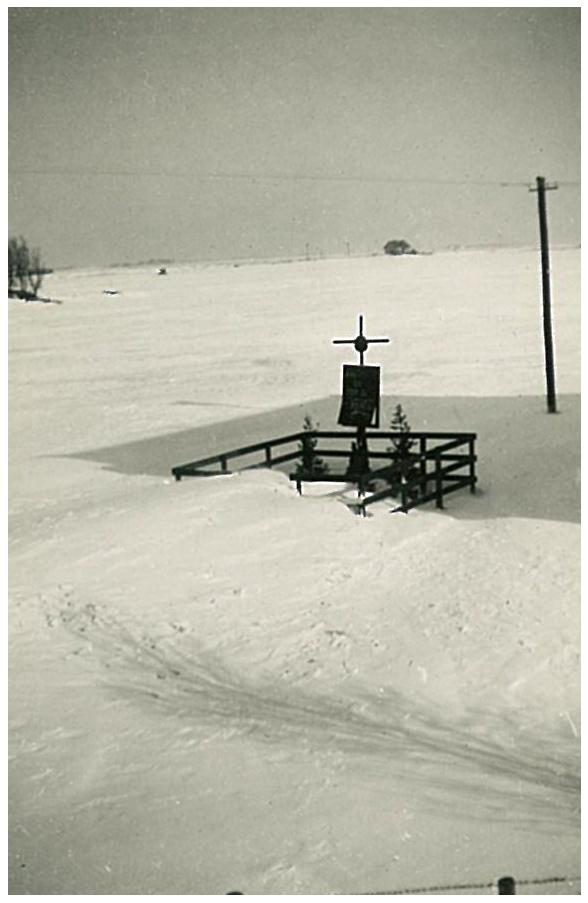 Bernardbrug monument 1945