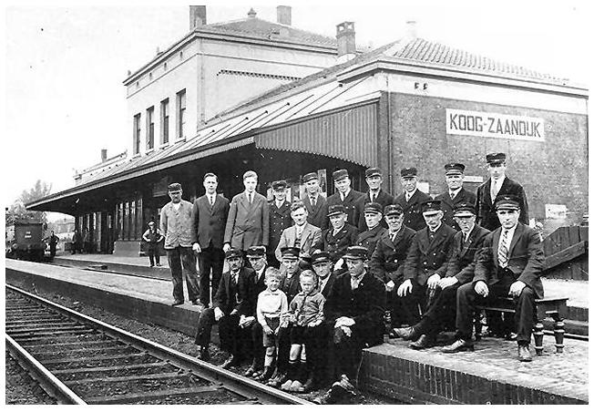 koog zaandiijk foto 1920