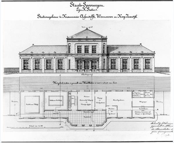 koog zaandijk plan 1867