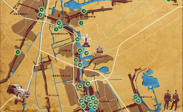 monumenten kaart