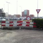 afsluiting provincialeweg