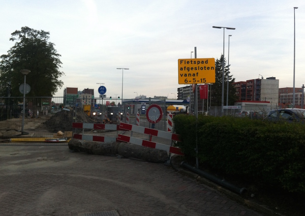 afsluiting provincialeweg 2