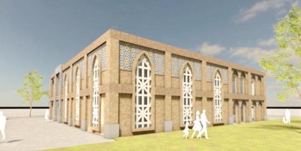nieuwe moskee omslag