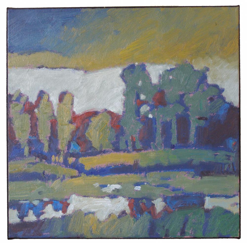poelmeijer landschap-Olieverf