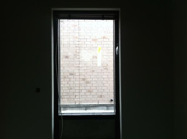 blinde muur