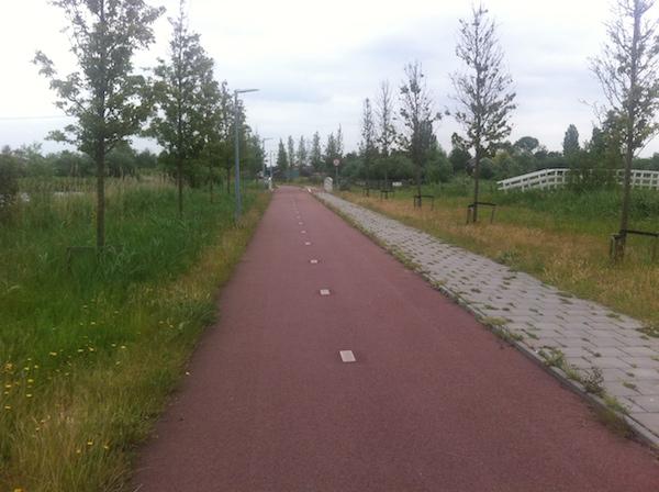 fietspad oostzaan