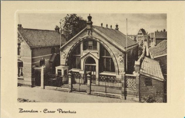 czaar peterhuisje 1910