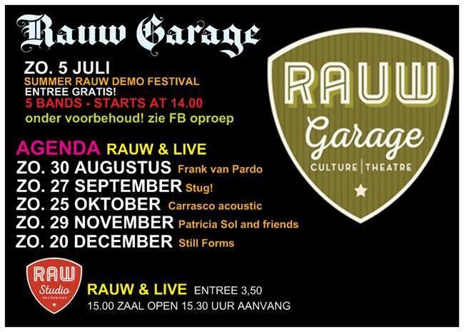 RAUW GARAGE 2015