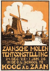 affiche-Zaanse-molententoonstelling-1925-1926
