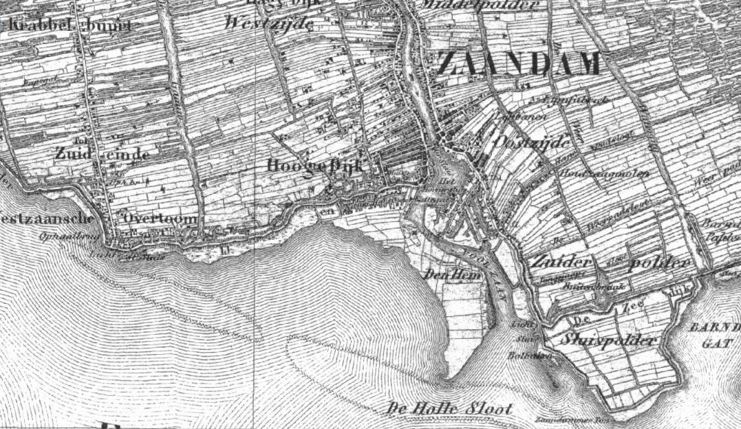 kaart 1850