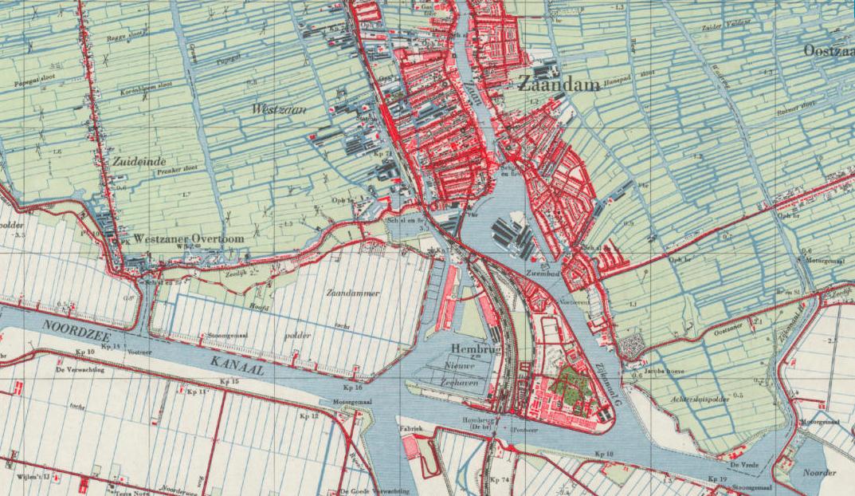 kaart 1950