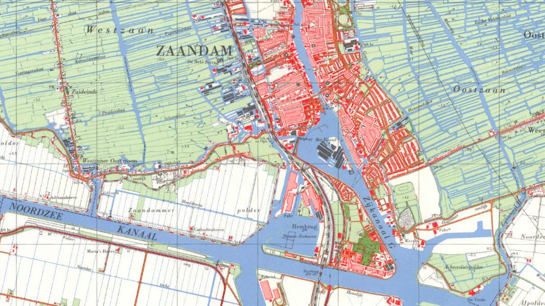 kaart 1961