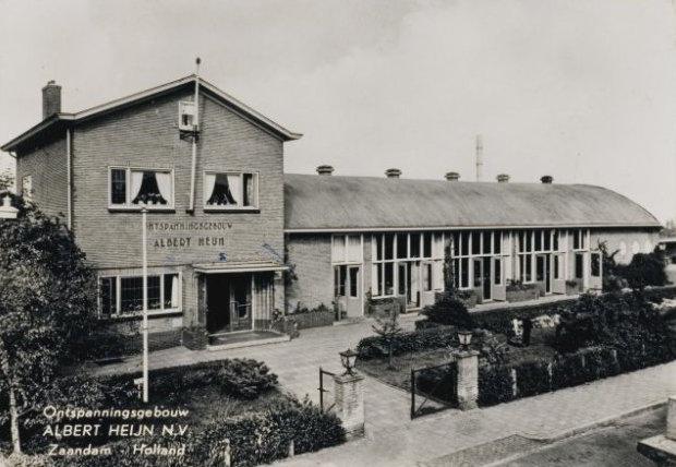 ontspanningsgebouw Albert Heijn