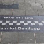 walk of fame damloop uitgelicht