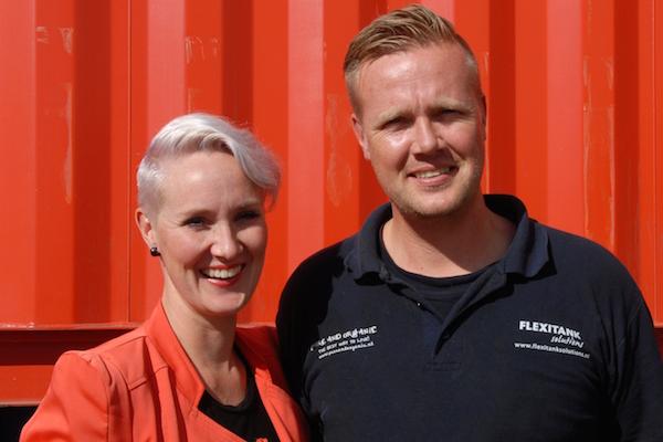 Anouk Kef en Rutger Kef