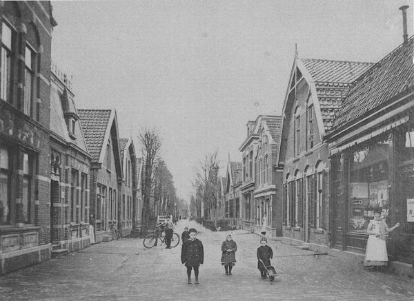 Goudastraat plm 1925