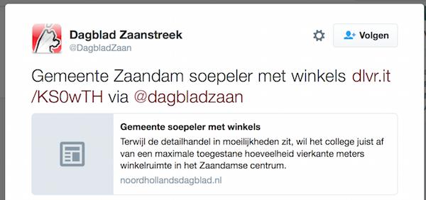 dagblad zaanstreek 8 fen 2016 gemeente zaandam