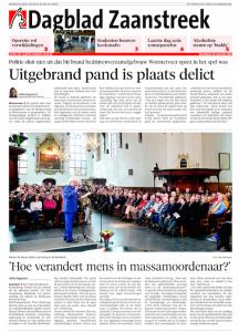dagblad zaanstreek hmd
