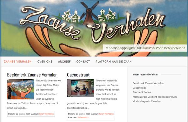 website zaanse verhalen