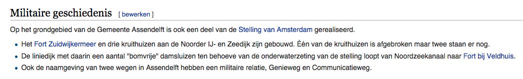 wikipedia assendelft