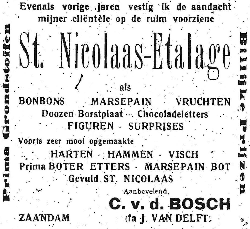 Advertentie C vd Bosch