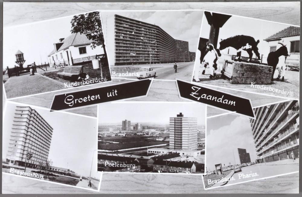 Ansichtkaart ERA-flats