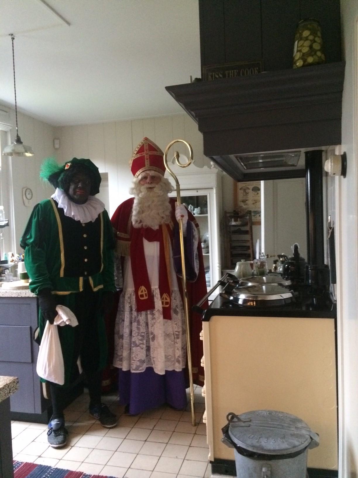 Sinterklaashuis keuken
