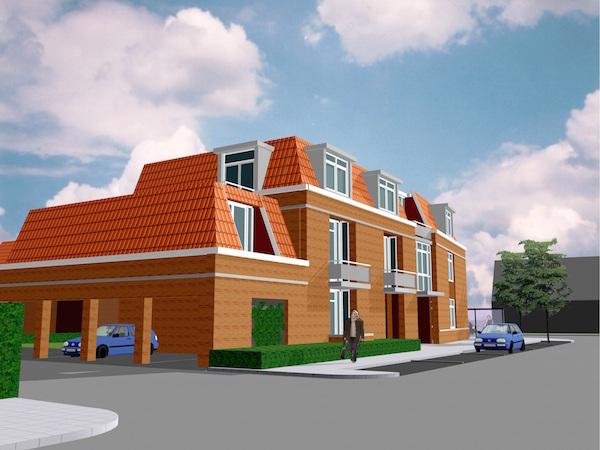 Straat en gebouw