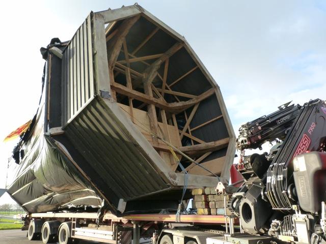 Transport molen De Haan II