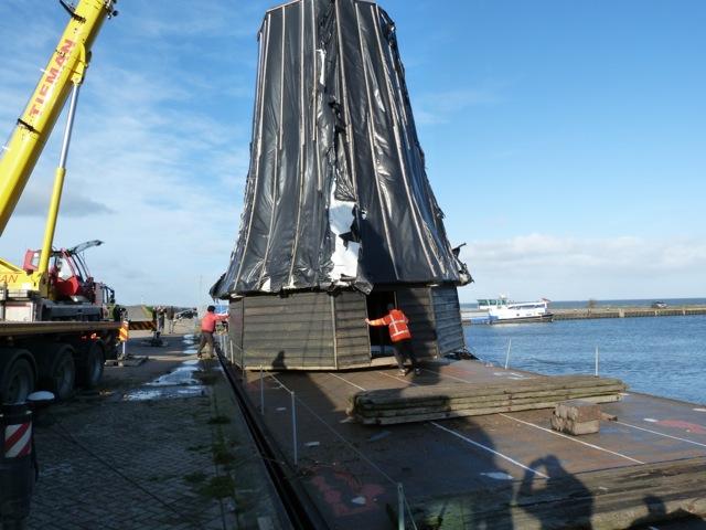 Transport molen De Haan IV