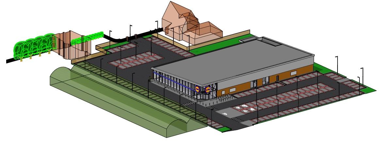 Zaandam_Lidl_Supermarkt