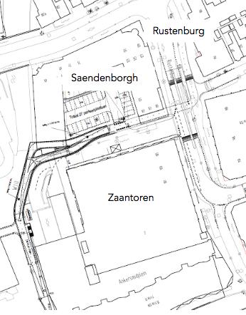 Zaantoren en Saendenborgh
