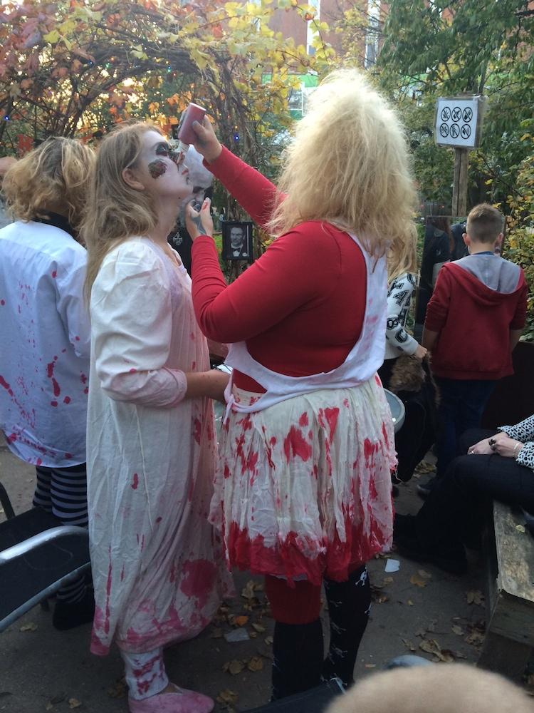 bloed zombie