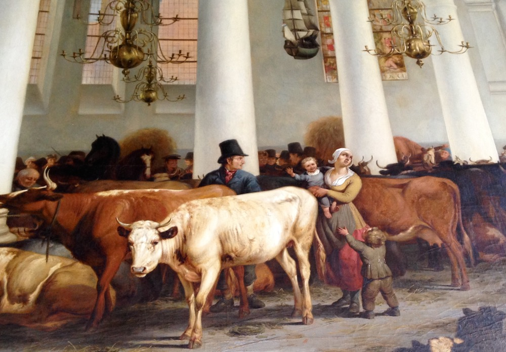 Detail Schilderij 1825