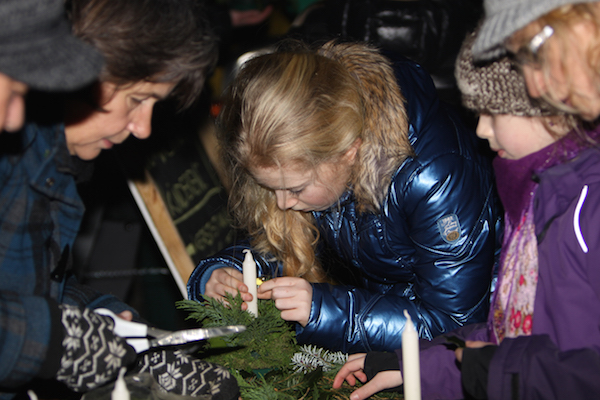 Kerst heemtuin Zaandam foto Lex van der Velde