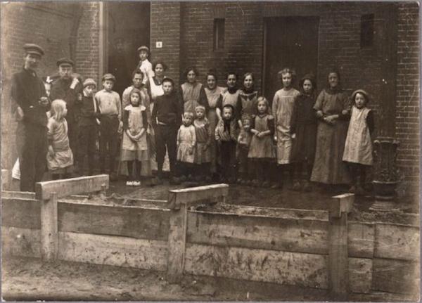 Watersnood Kalf 1916