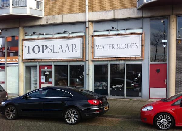 topslaap waterbedden