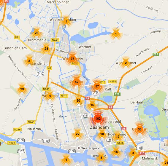 vuurwerkoverlast 27 december 2015 totaal