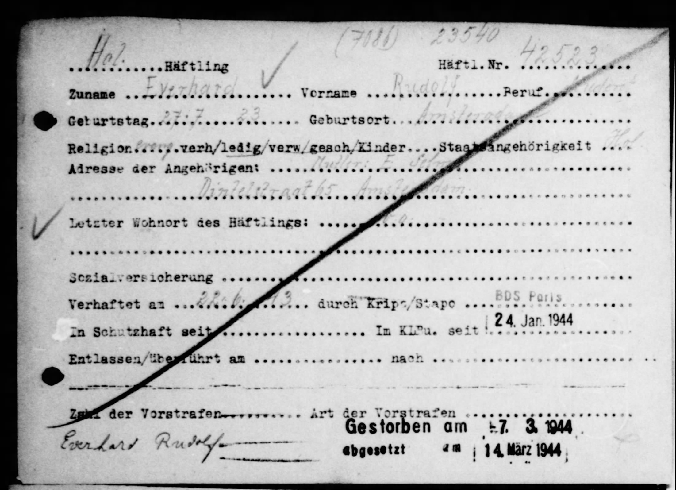 Buchenwald-kaart Rolf Eisendrath (www.fold3.com)