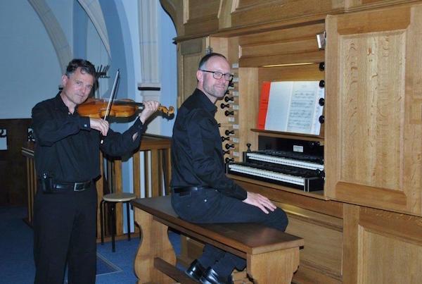 Henk Verhoef en Franc Polman