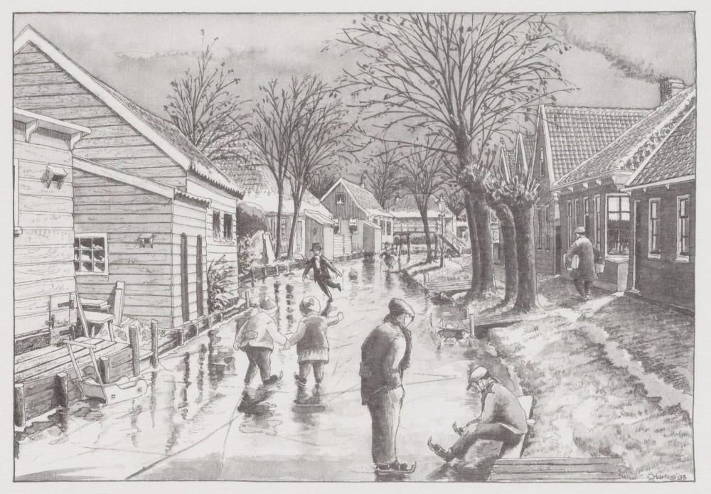 IJspret op Het Krimp (Jaap Hartog) 3100204