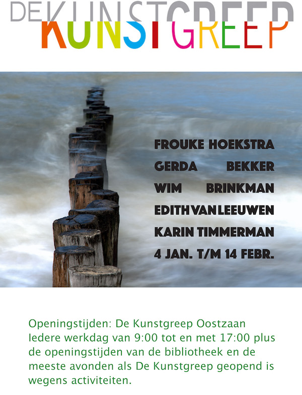 Poster 5 fotografen