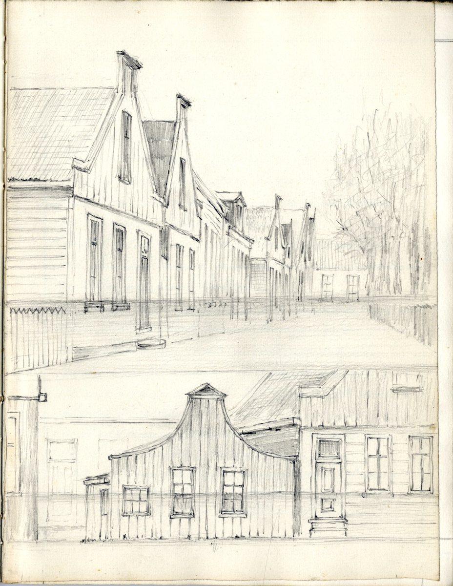 Waterstand op de Bloemgracht (tekening J. Kruijver) img007