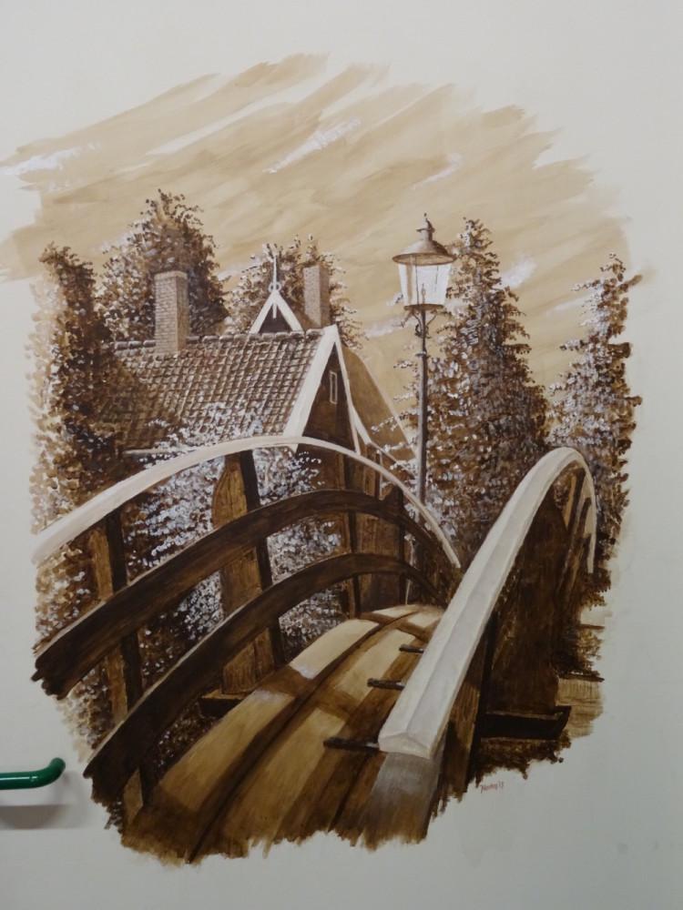 Zaans bruggetje bij Stichting AH Erfgoed (S. Wegereef)