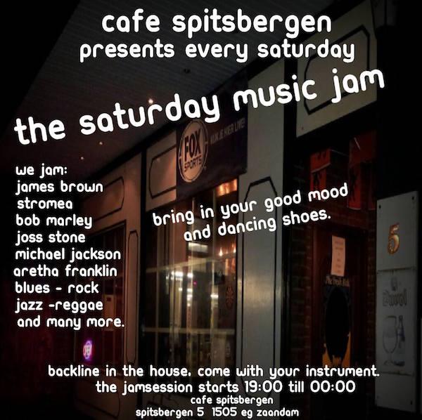 Zaterdag Cafe Spitsbergen