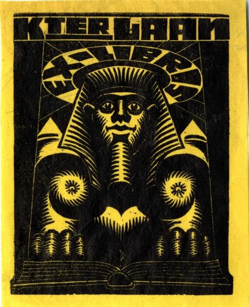 ex-libris K. ter Laan
