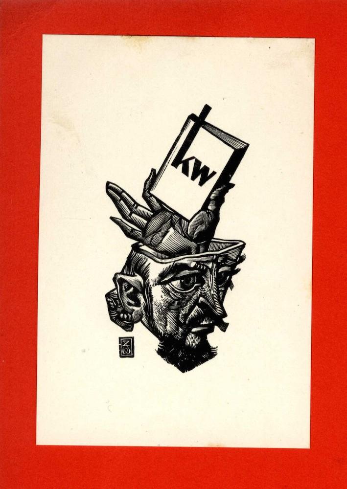 ex-libris Klaas Woudt