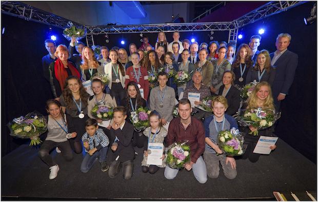 Sportpenning Zaanstad uitreiking 2016 FOTOGRAFIE BART HOMBURG