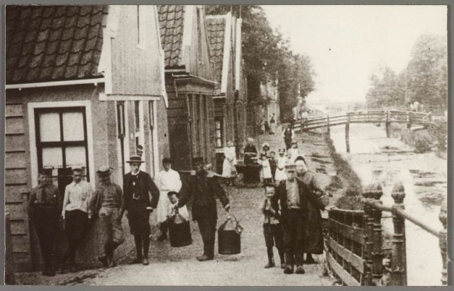 slagerij van wijk 1900
