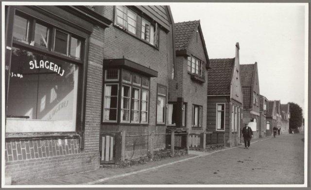slagerij van wijk 1960